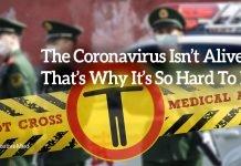 The Coronavirus Isn't Alive. That's Why It's So Hard to Kill