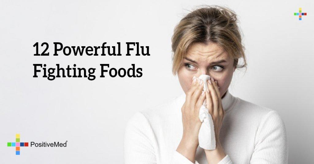12 Powerful Flu Fighting Foods