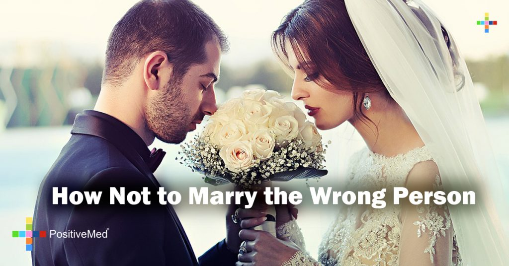 How Not to Marry the Wrong Person