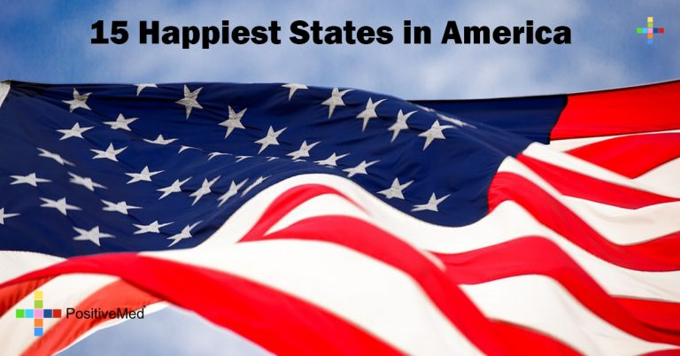 15 Happiest States in America