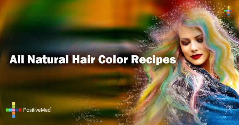 All Natural Hair Color Recipes