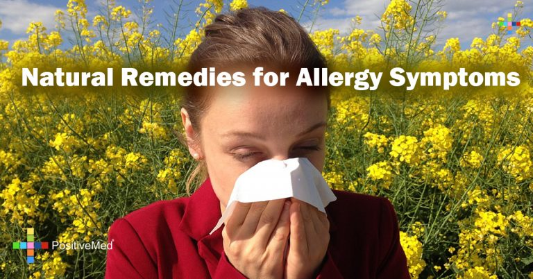 Natural Remedies for Allergy Symptoms
