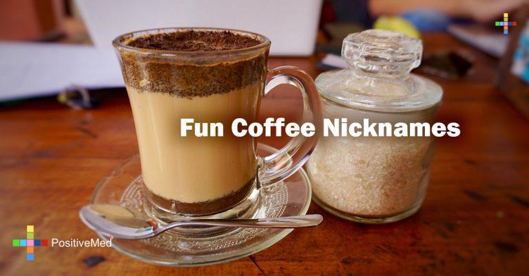 Fun Coffee Nicknames