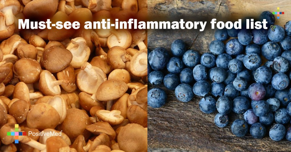Must-see anti-inflammatory food list