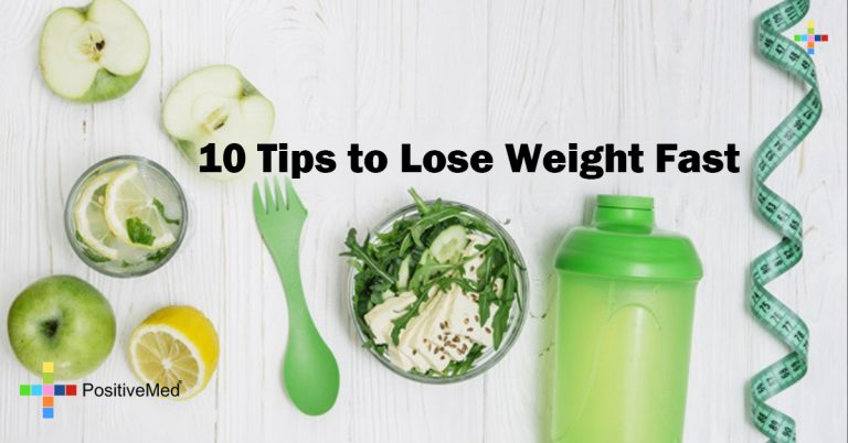 10 Tips to Lose Weight Fast