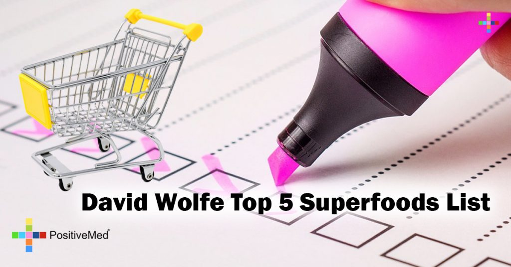 David Wolfe Top 5 Superfoods List