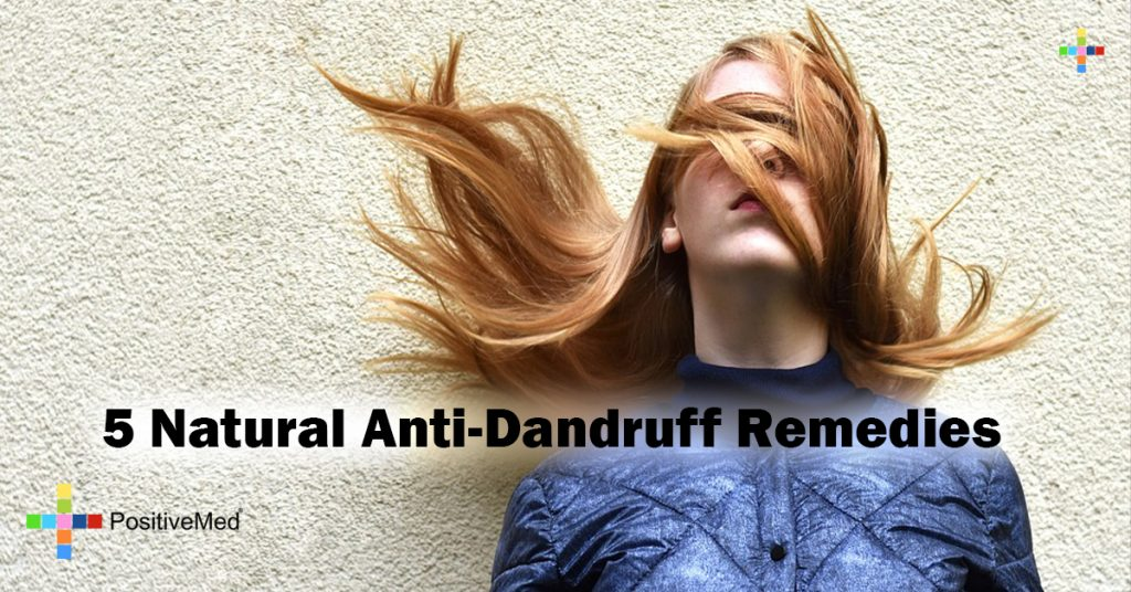 5 Natural Anti-Dandruff Remedies