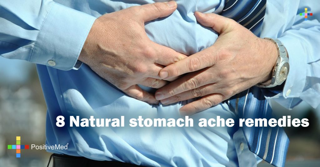 8 Natural stomach ache remedies