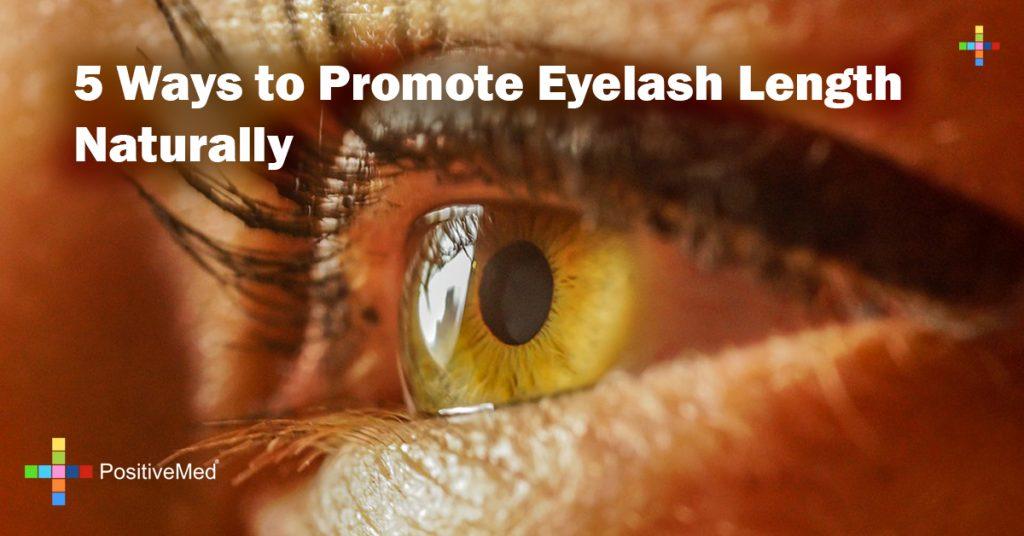 5 Ways to Promote Eyelash Length Naturally