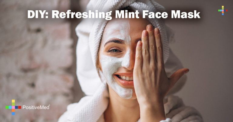 DIY: Refreshing Mint Face Mask