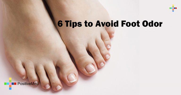 6 Tips to Avoid Foot Odor