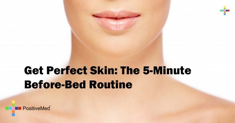 Get Perfect Skin: The 5-Minute Before-Bed Routine