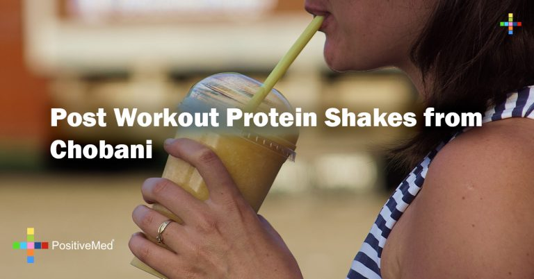Post Workout Protein Shakes from Chobani