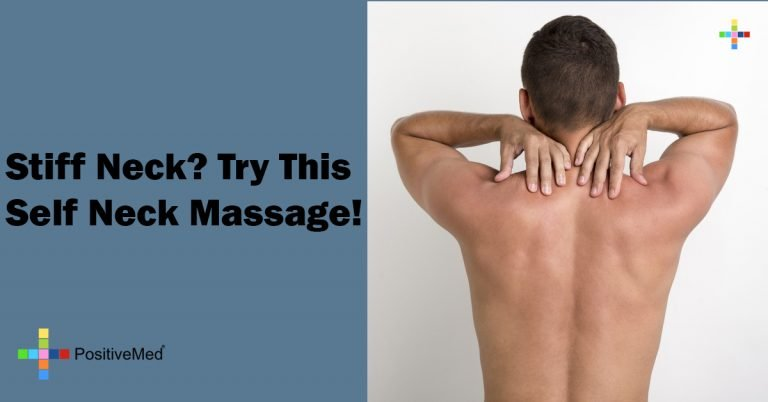 Stiff Neck? Try This Self Neck Massage!
