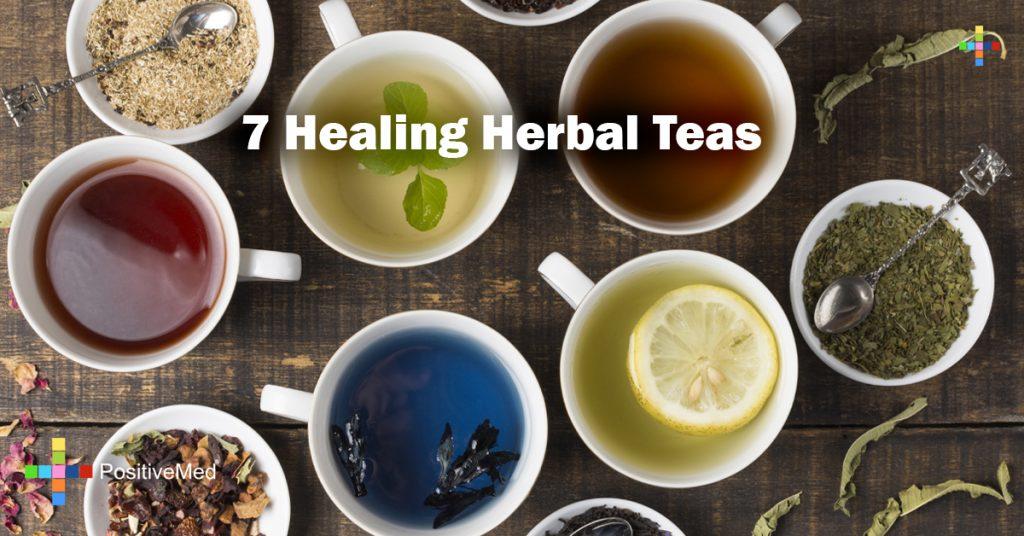 7 Healing Herbal Teas