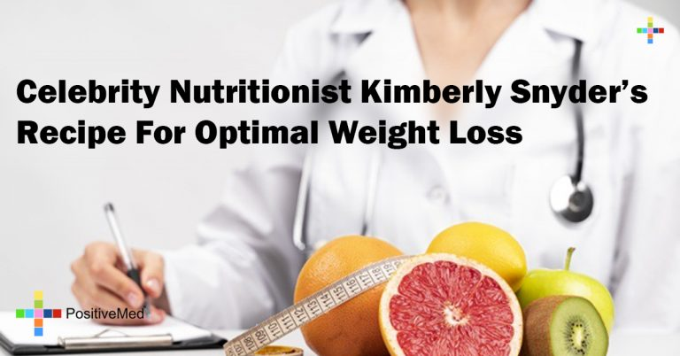 Celebrity Nutritionist Kimberly Snyder's Recipe For Optimal Weight Loss