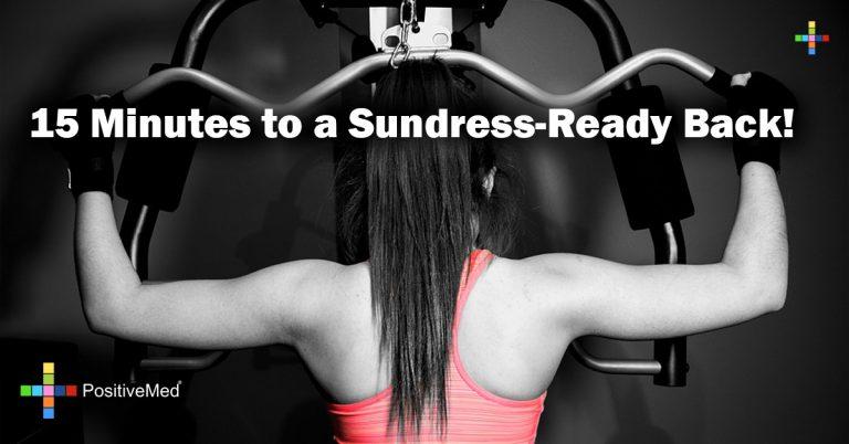 15 Minutes to a Sundress-Ready Back!