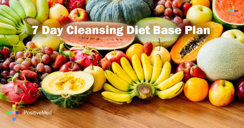 7 Day Cleansing Diet Base Plan