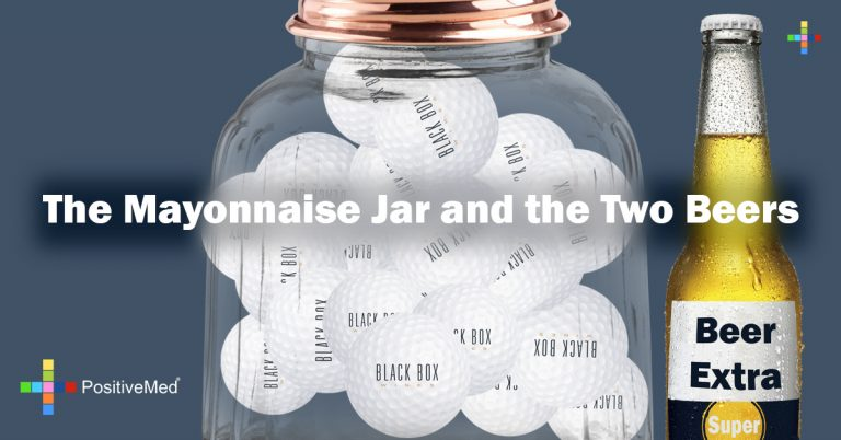 The Mayonnaise Jar and the Two Beers