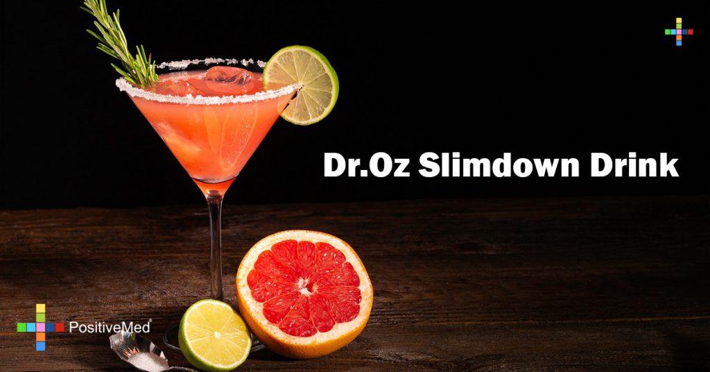 Dr.Oz Slimdown Drink