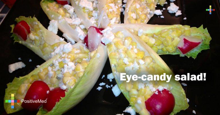 Eye-candy salad!