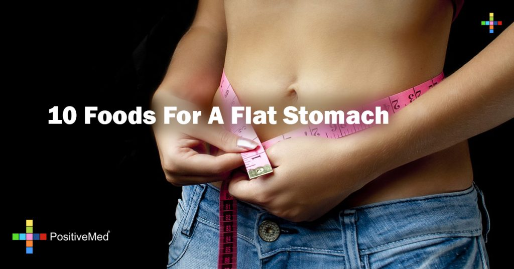 10 Foods For A Flat Stomach
