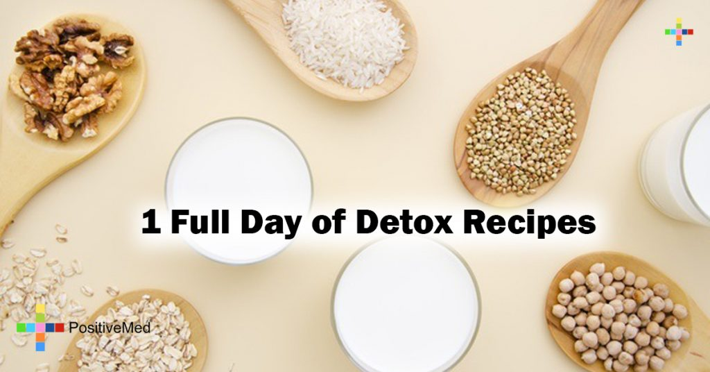 1 Full Day of Detox Recipes