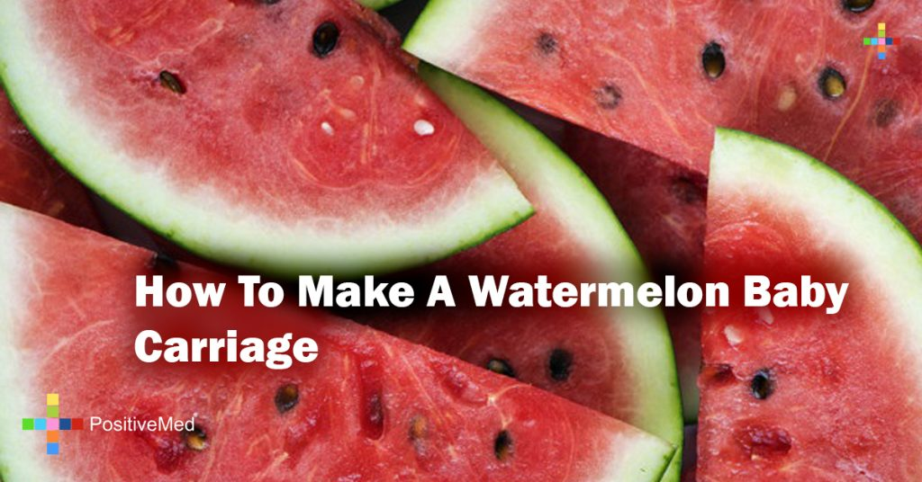 How To Make A Watermelon Baby Carriage