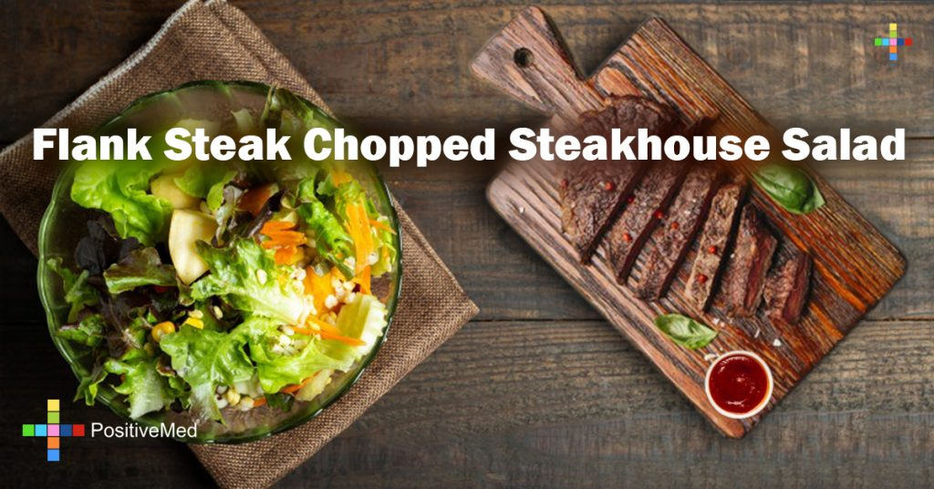 Flank Steak Chopped Steakhouse Salad