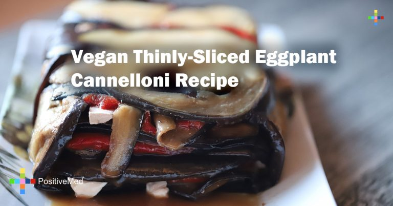 Vegan Thinly-Sliced Eggplant Cannelloni Recipe