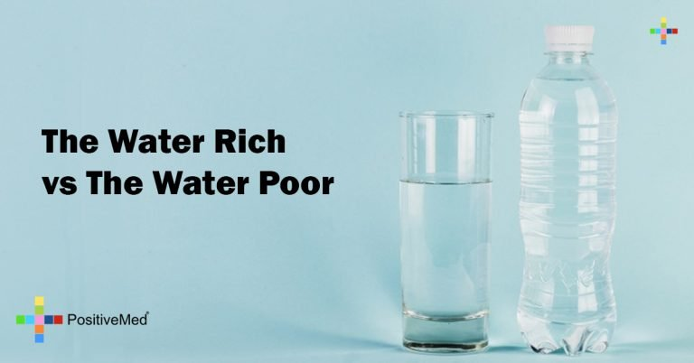 The Water Rich vs The Water Poor