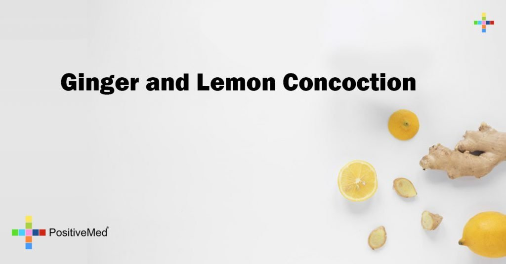 Ginger and Lemon Concoction