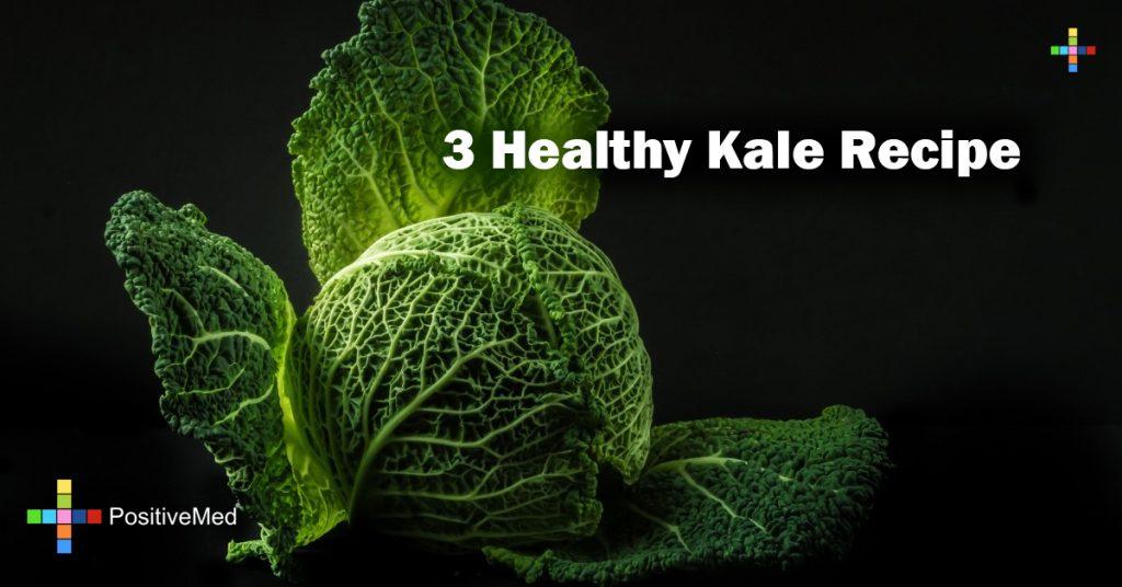 3 Healthy Kale Recipe