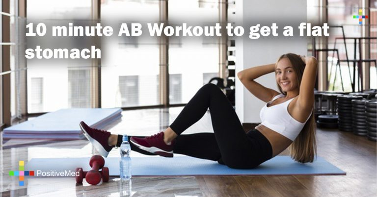 10 minute AB Workout to get a flat stomach