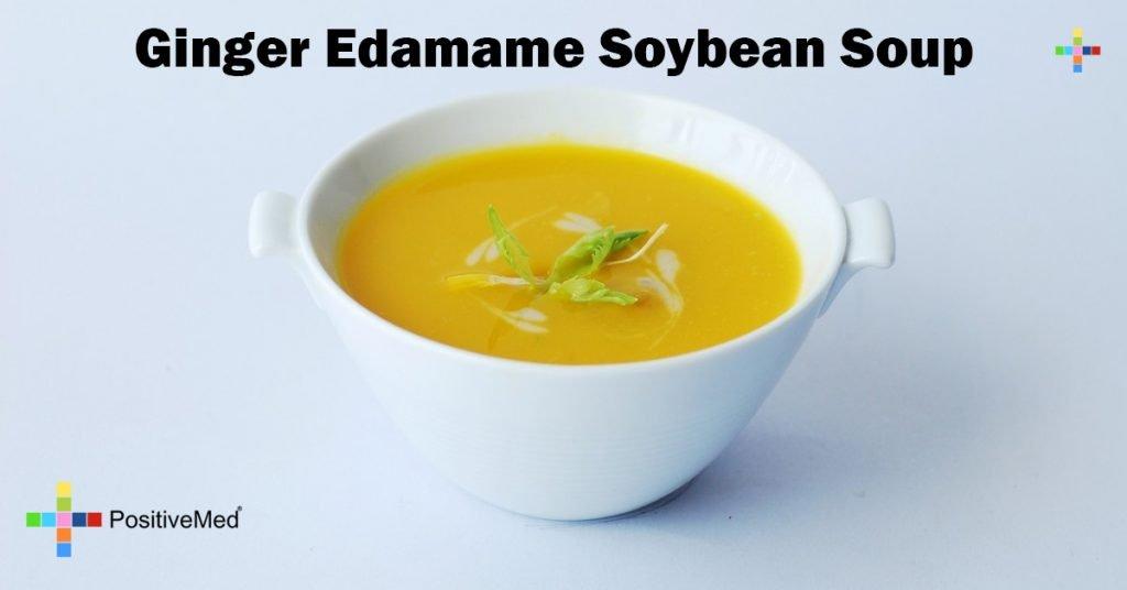 Ginger Edamame Soybean Soup