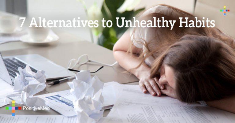 7 Alternatives to Unhealthy Habits