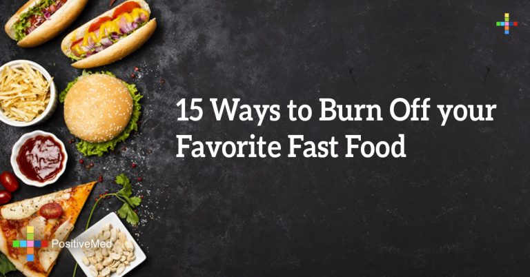 15 Ways to Burn Off your Favorite Fast Food