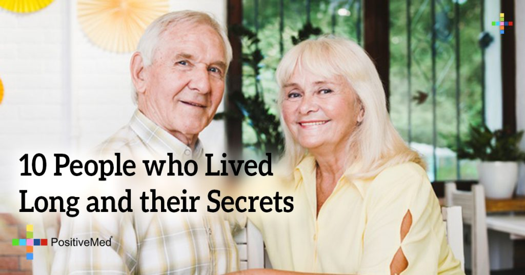 10 People who Lived Long and their Secrets