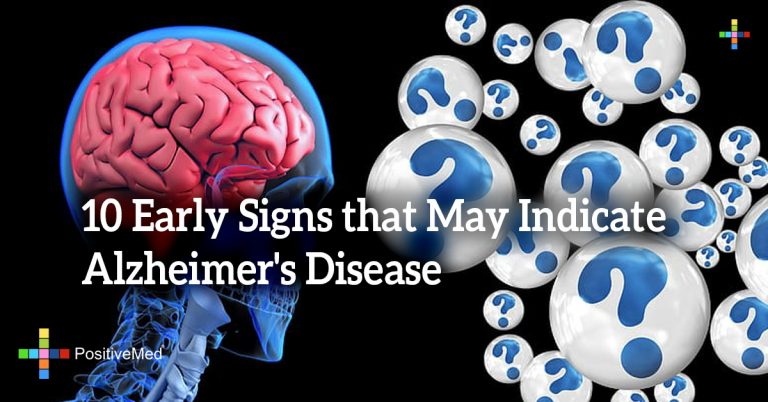 10 Early Signs that May Indicate Alzheimer's Disease