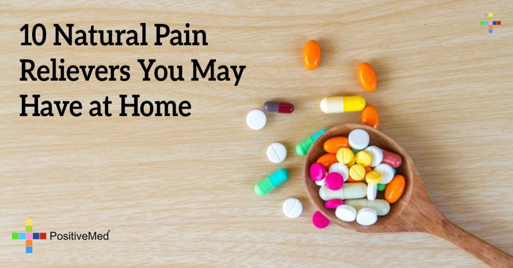 10 Natural Pain Relievers You May Have at Home
