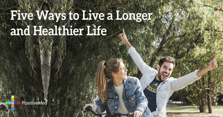 Five Ways to Live a Longer and Healthier Life