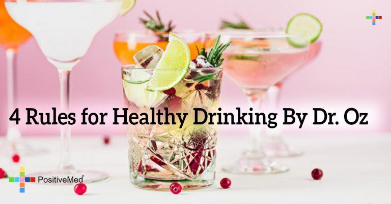 4 Rules for Healthy Drinking By Dr. Oz