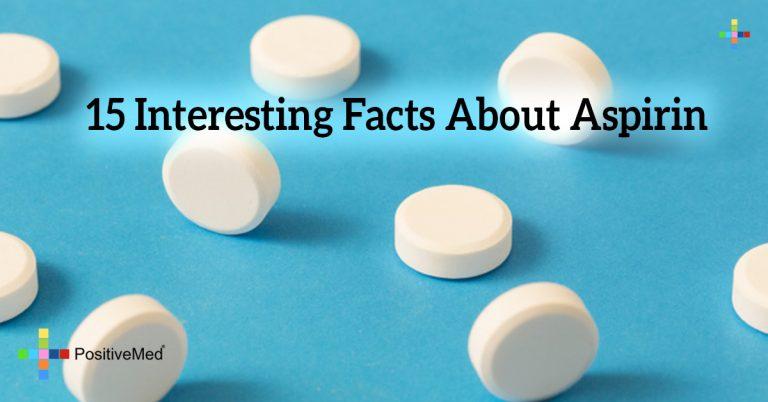 15 Interesting Facts About Aspirin