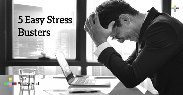 5 Easy Stress Busters