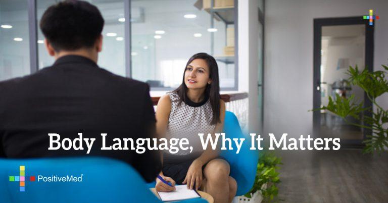 Body Language, Why It Matters