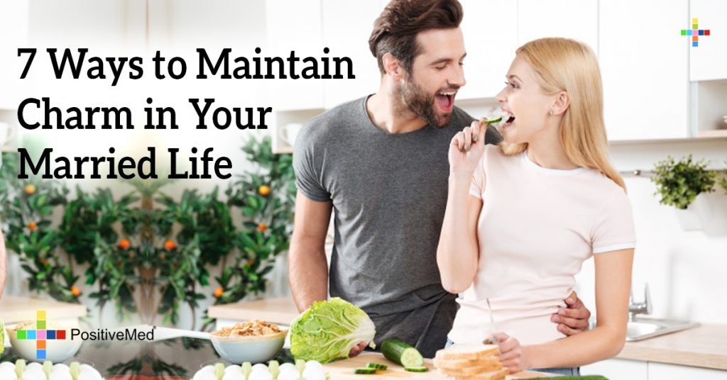 7 Ways to Maintain Charm in Your Married Life