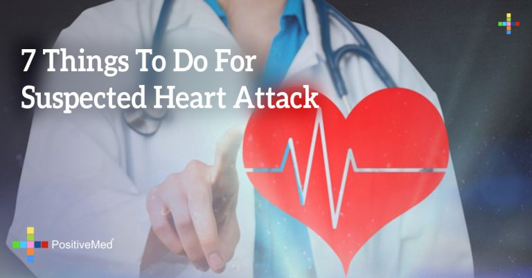 7 Things To Do For Suspected Heart Attack