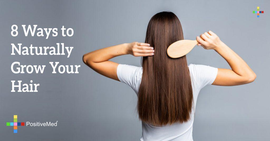 8 Ways to Naturally Grow Your Hair