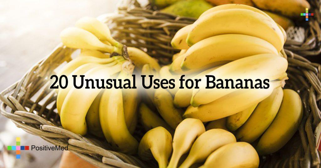 20 Unusual Uses for Bananas