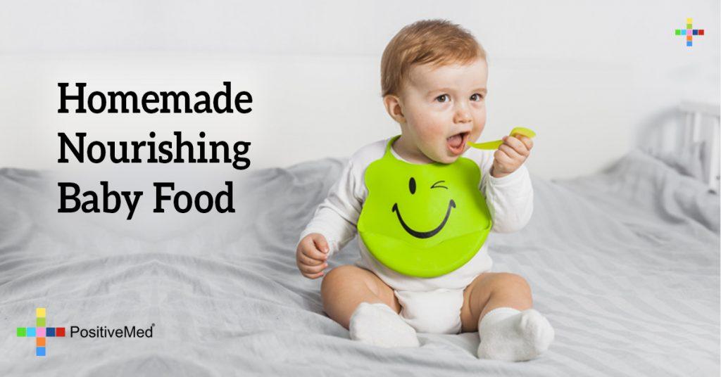 Homemade Nourishing Baby Food